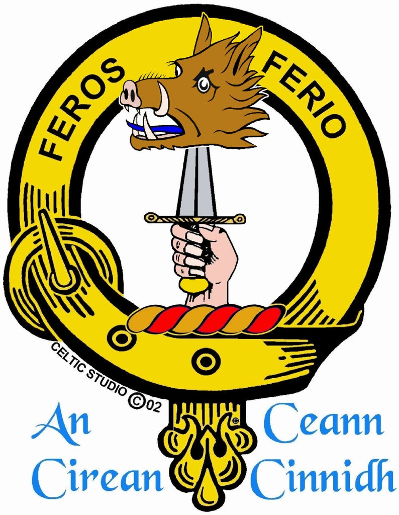 Chisholm Scottish Clan Crest Baby Jumper