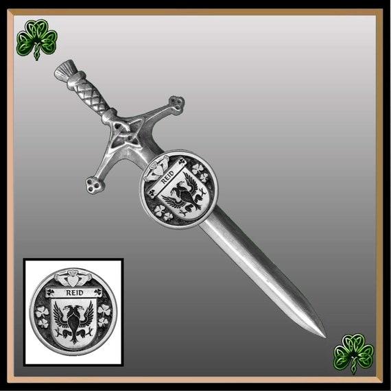 King Irish Coat of Arms Kilt Pin