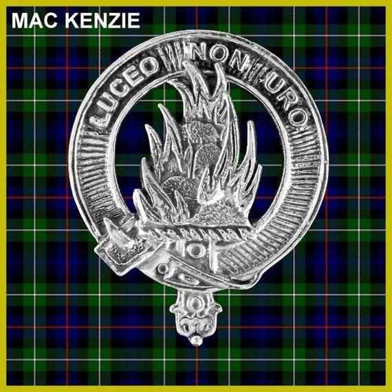 Stuart Clan Crest Scottish Pewter Cap Badge CB01