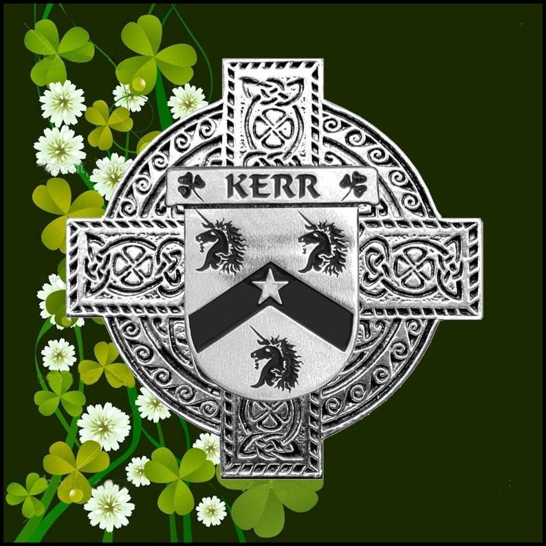Kerr Irish Dublin Coat of Arms Badge Decanter