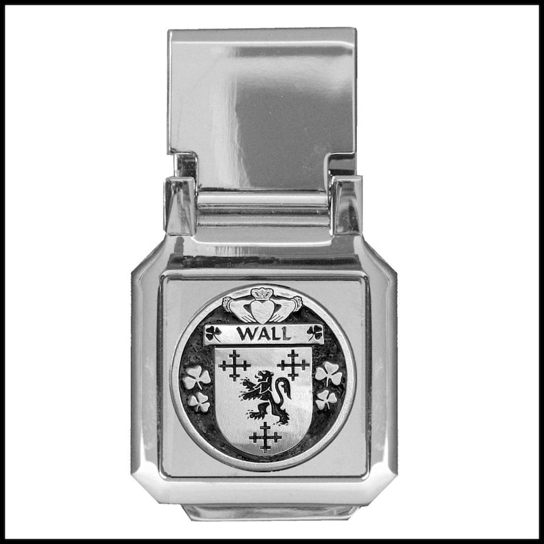 Wall Coat of Arms Money Clip