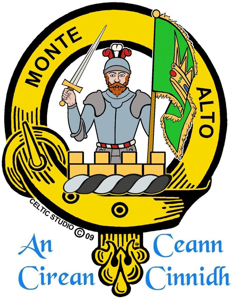 Mowat Clan Crest Kilt Pin Scottish Pin ~ CKP02