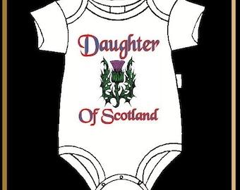 Scottish Baby Jumper Infant Bodysuit - Daughter of Scotland