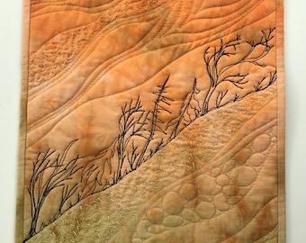 Twisting in the Wind / Original Textile Art