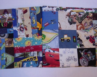"""Sale: I Spy Book, quilted I Spy book, I Spy Game, Animals, Foods, Cars, Planes, Colorful I Spy Game in a soft BOOK form. 9 1/2""""x10"""""""