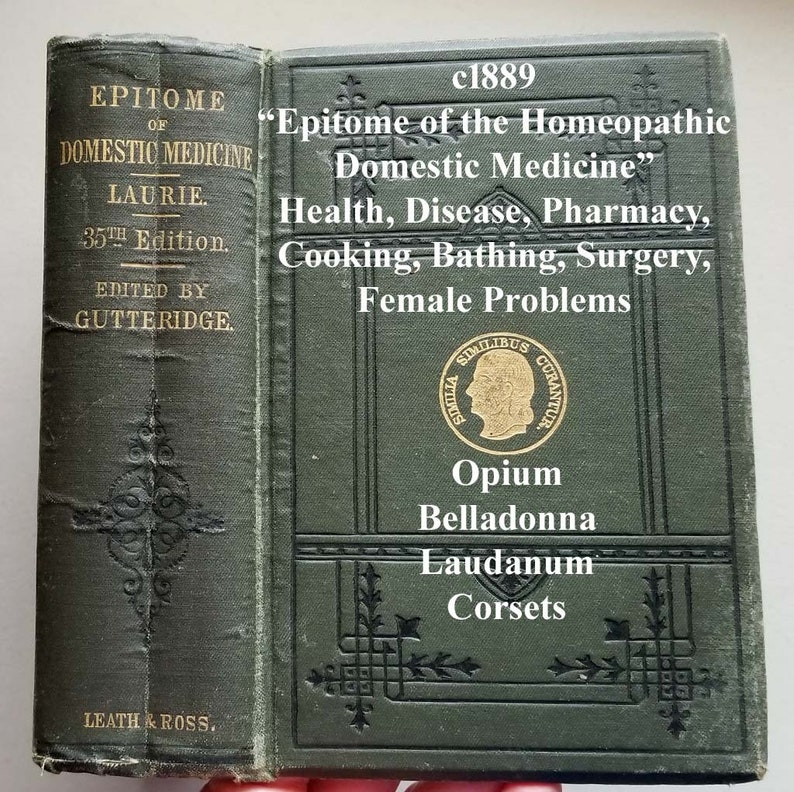 Homeopathic Pharmacy Book
