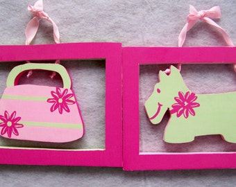 Pup and Purse Set
