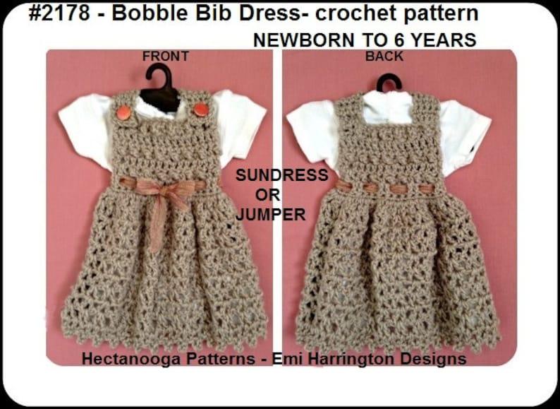 abb6d0dbb Crochet dress pattern baby newborn toddler child newborn