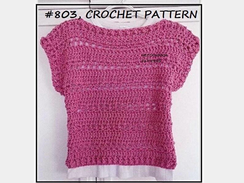 CROCHET PATTERNS  803 image 0