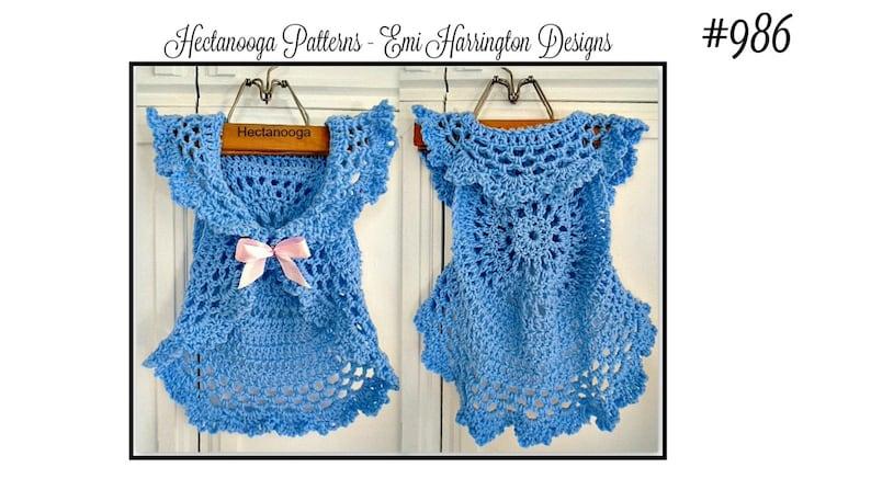 de9b4ec2f90c PATTERNS Crochet Pattern Bohemian Mandala Vest kids