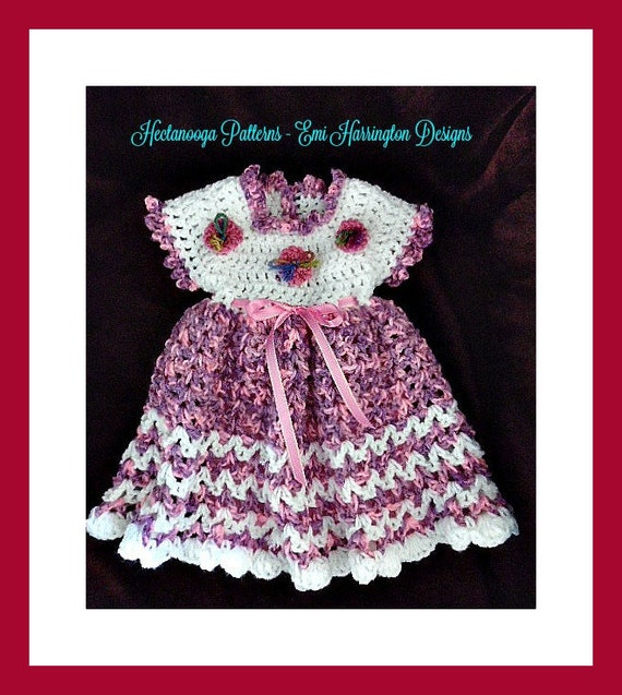 Baby Dress Crochet Pattern Crochet For Kids Babies Newborn Etsy