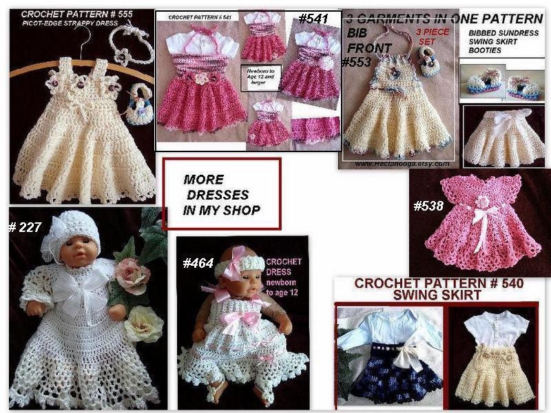Crochet Patterns Baby Dresses Images Knitting Patterns Free Download
