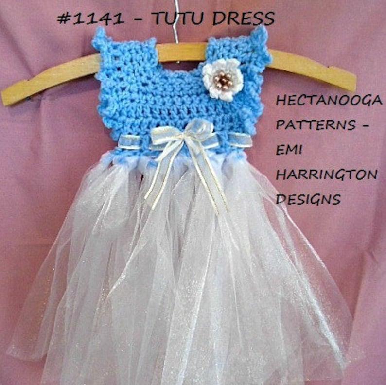 fb0d73671 CROCHET TUTU PATTERN Girl s dress newborn to 6yrs