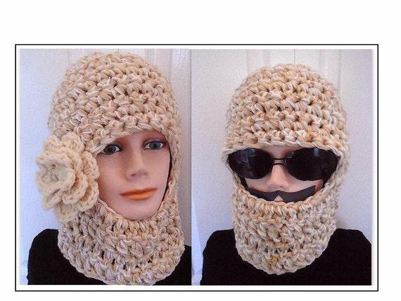 10ca37a5265 Crochet Pattern HAT Pattern Unisex ski mask 597CROB
