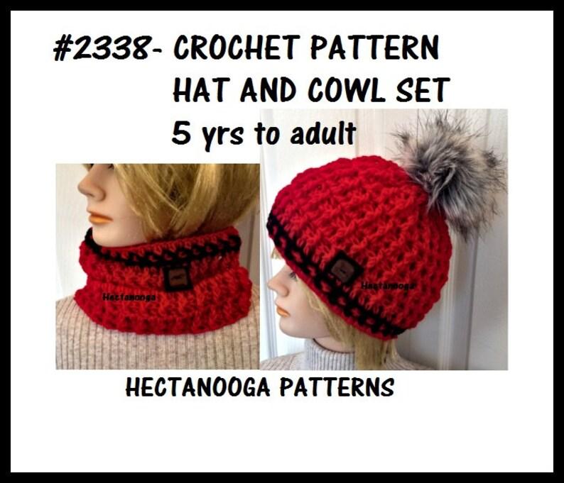 ff7693c20 Crochet HAT PATTERN, Get the cowl pattern FREE, Women, children, kids,  teens, men, boys, Easy crochet pattern, #2338,