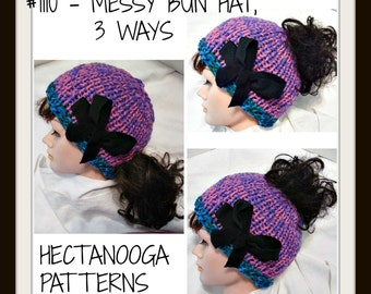 3e7b16a2d9eb knit hat PATTERN Newborn to Adult Quick and easy beginner
