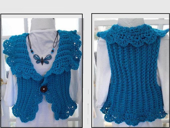 7e760a5962cda Women s Vest CROCHET PATTERN Women and Children Easy
