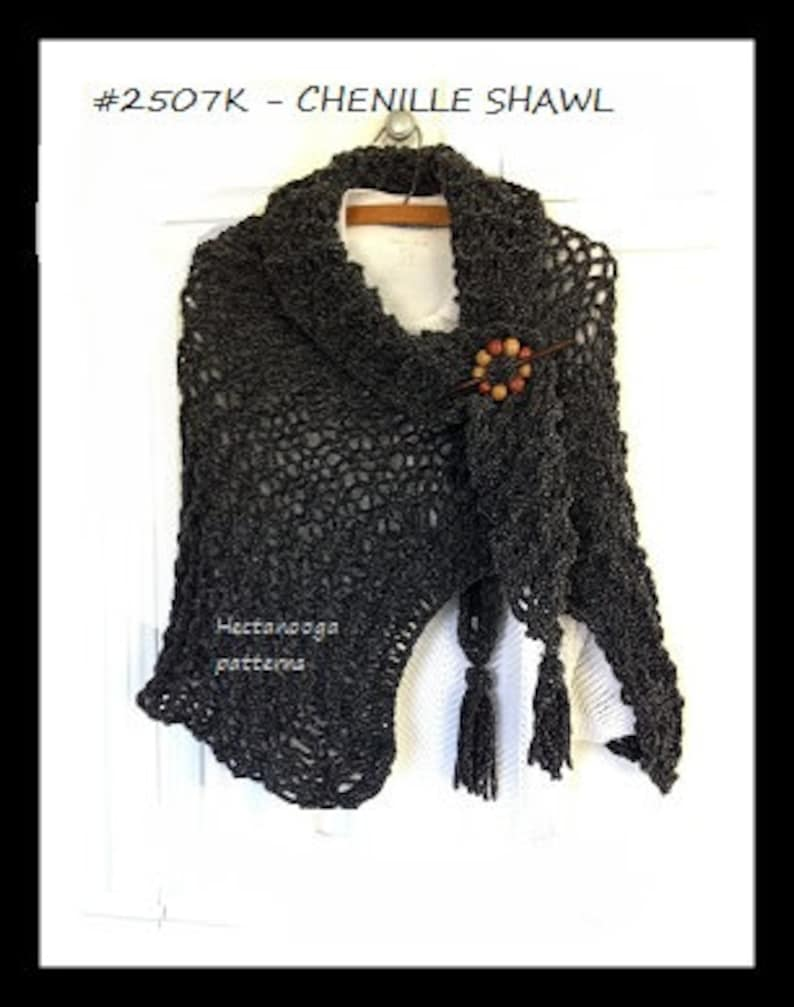 KNIT SHAWL PATTERN easy knitting pattern beginner knitting image 0
