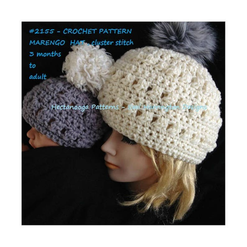 47f70291170 Crochet hat pattern baby child toddler teen adult for
