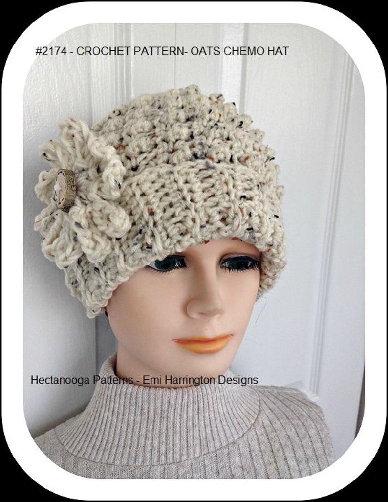 Crochet Chemo Hat Pattern Hat Crochet Pattern Beanie Touque Etsy