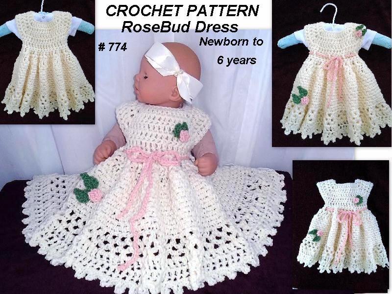 Crochet Pattern Baby Baby Girl Dress Crochet Baby Dress Kids And
