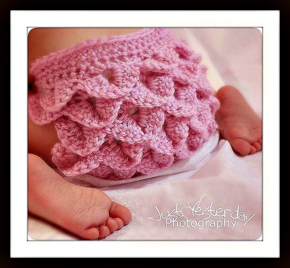 Crochet Pattern Diaper Cover Crocodile Stitch Diaper Cover Etsy