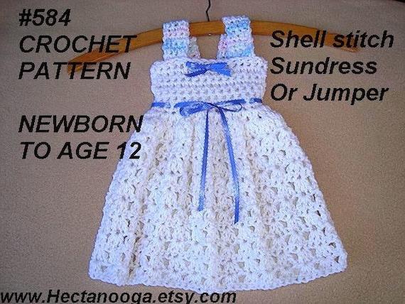 Crochet Pattern Crochet Baby Dress Patterns For Kids Etsy