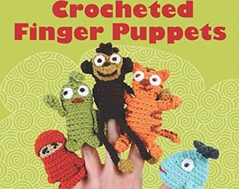 Crocheted Finger Puppets Paperback by Gina Alton (Author)
