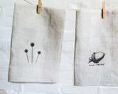 linen napkins printed with images (2)