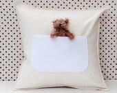 pocket pillow ( linen or hemp )