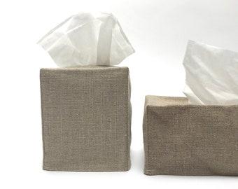 linen tissue cover - dark
