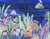 Seaside Thistle - Original Painting