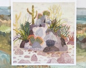Cactus Rock - Limited Edition Print