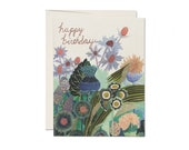 "Greeting Card - ""Happy Birthday"" - Thistle"
