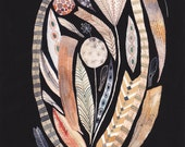 """Feathers, Pods and Wings - 8"""" x 10"""" Archival Print"""