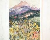 Montana Wildflowers - Limited Edition Print