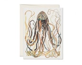 """Greeting Card - """"You're the Greatest"""" - Jellyfish"""