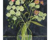 "Queen Anne's Lace No.1 - 8.5"" x 11"" Archival Print -"