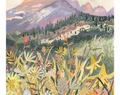 """Montana Wildflowers - 18"""" x 24"""""""