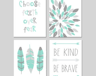 Girl Room Decor Girl Bedroom Decor Teen Girl Wall Art Girl Bedroom Prints  Teen Room Decor Dorm Wall Art Set Of 4 Prints   CHOOSE YOUR COLORS