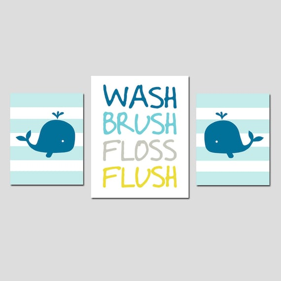 Kids Whale Bathroom Decor Custom Decorating Design