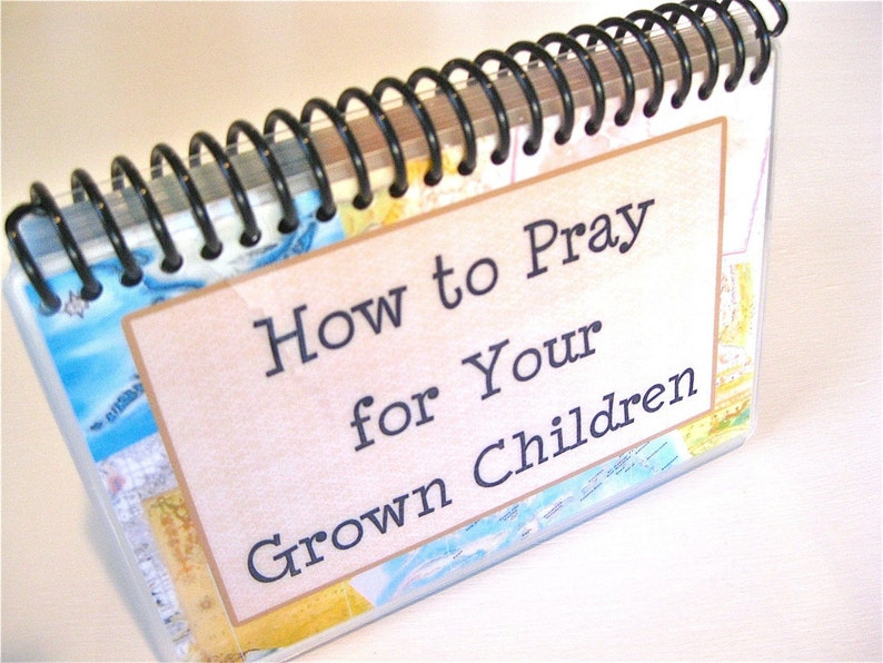 How to Pray for Your Grown Children Spiral-Bound Laminated image 0