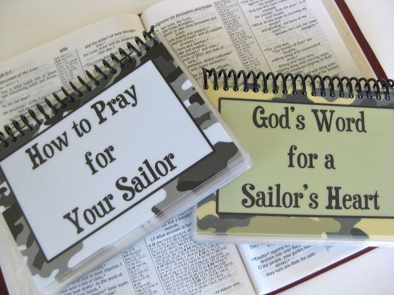 SALE  How to Pray for Your Sailor/God's Word for a image 0