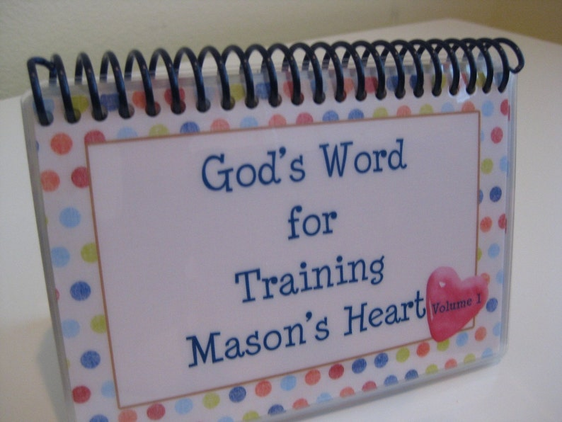 God's Word for Training Your Child's Heart  Volume 1 image 0