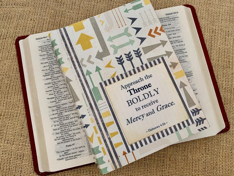 Legacy Prayer Journal Multicolored Arrows with Grey Thin image 0