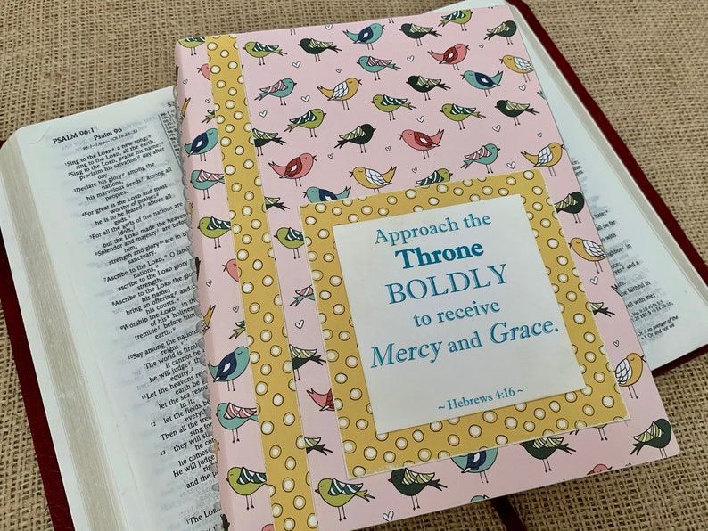 Legacy Prayer Journal Bound Book Multicolored Birds with image 0