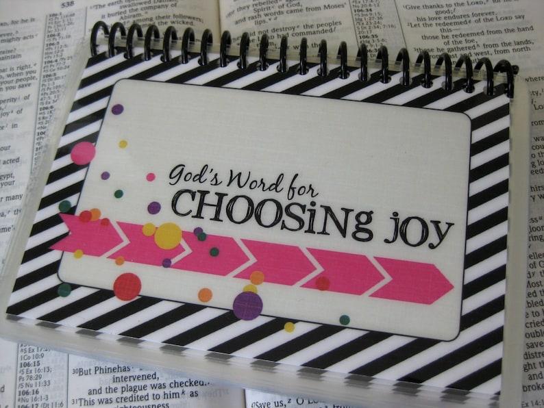 God's Word for Choosing Joy Scripture Memorization Cards image 0