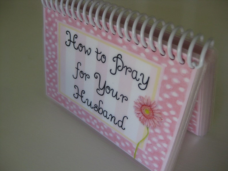 How to Pray for Your Husband Spiral-Bound Laminated Prayer image 0
