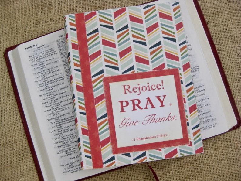 Legacy Prayer Journal Bound Book Multicolored Herringbone image 0