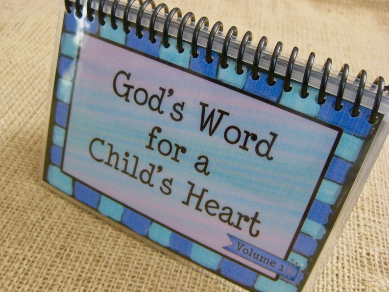 God's Word for a Child's Heart  Volume 1 image 0